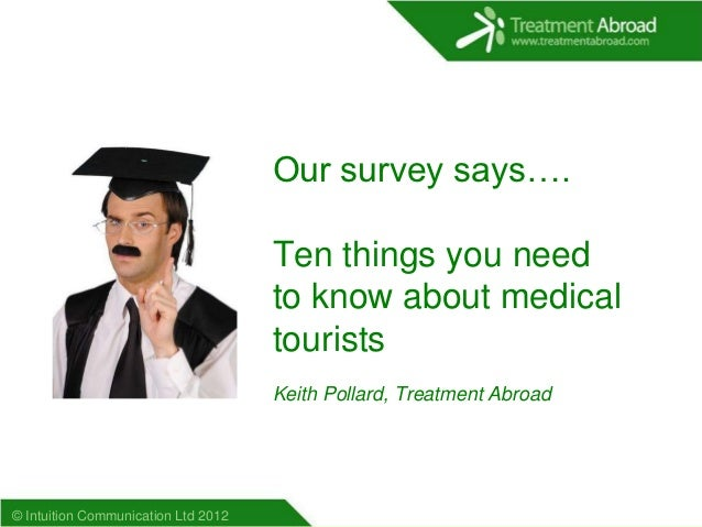 Our survey says….                                     Ten things you need                                     to know abou...