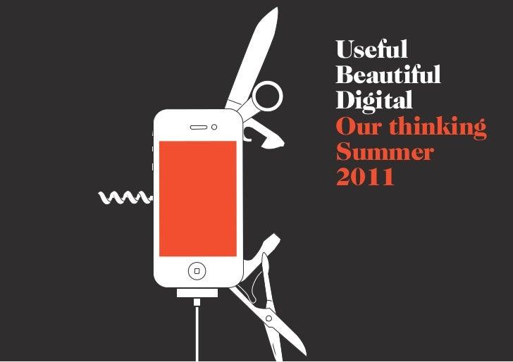 UsefulBeautifulDigitalOur thinkingSummer2011