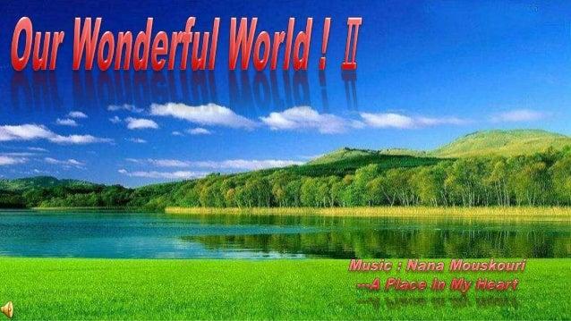 Our Wonderful World!  11