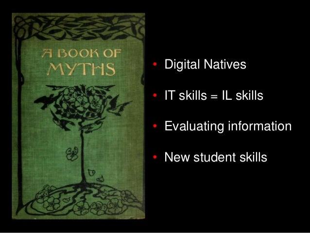 IT skills = IL skills