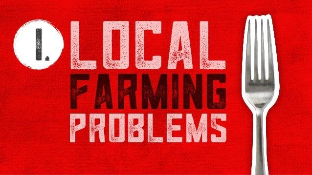 problems 1 farming local