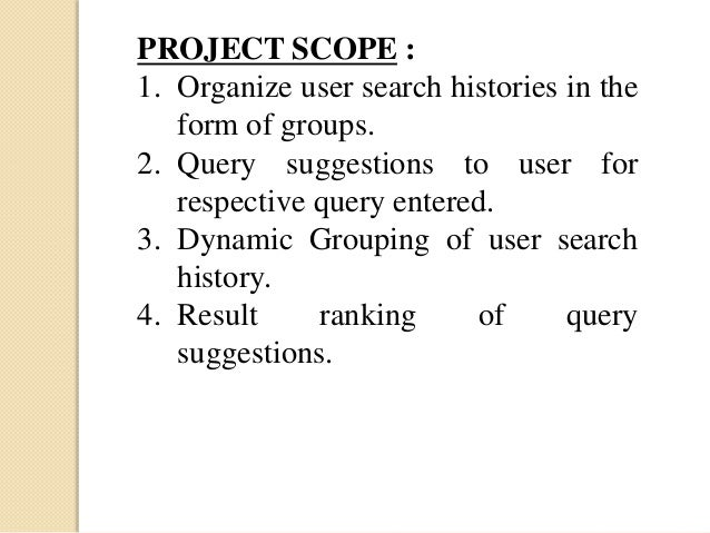 Organizing User Search Histories - YouTube
