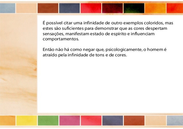 O uso das cores na publicidade Slide 3