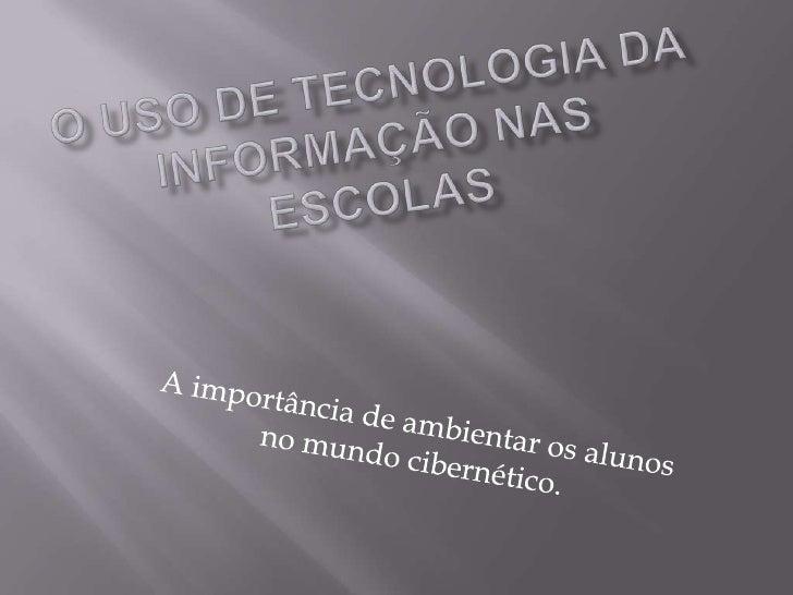 desempenhoPesquisascomprovam quecomputadoresajudam amelhorar em 30%                    alunos queo desempenho             ...