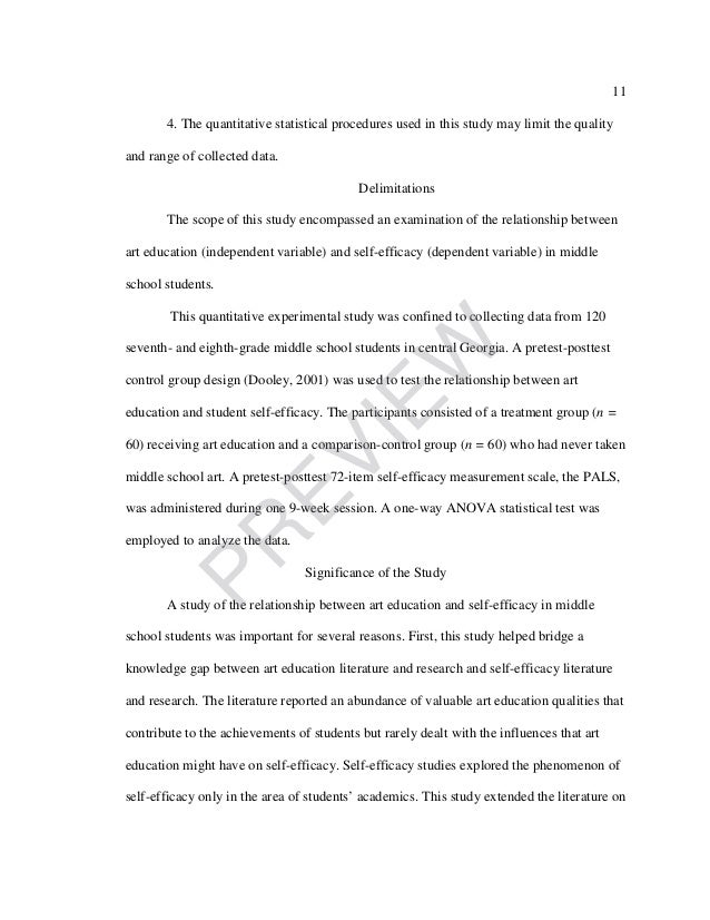 self efficacy in education essay Leadership development plan kristian mcadams contents my score for the generalized self-efficacy assessment was 558 this means that i almost have.