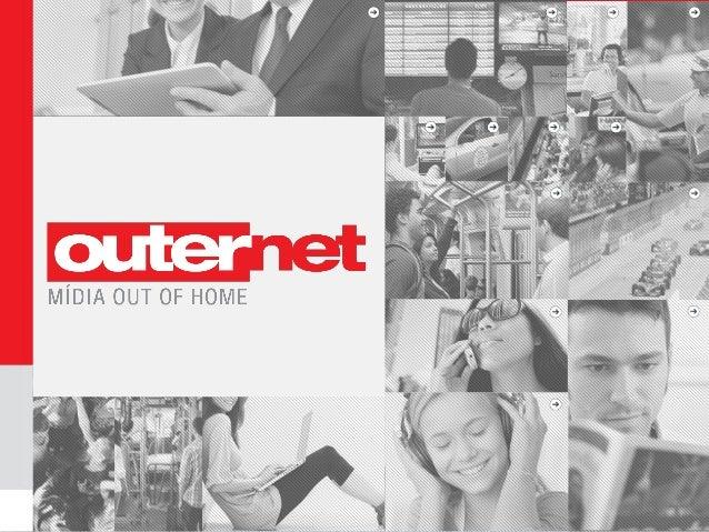 Outernet é uma empresa líder em mídia out of home no Brasil, que engloba soluções de comunicação em transporte público nas...