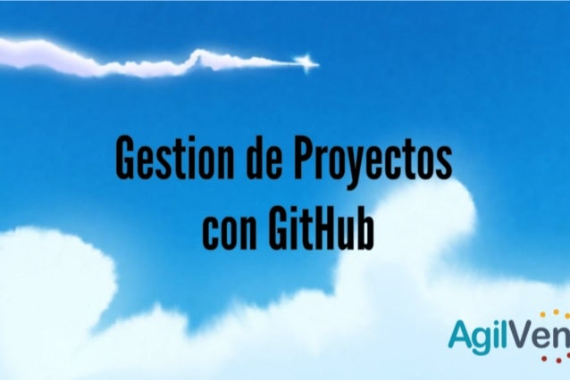 Gestión de Proyectos con GitHub.