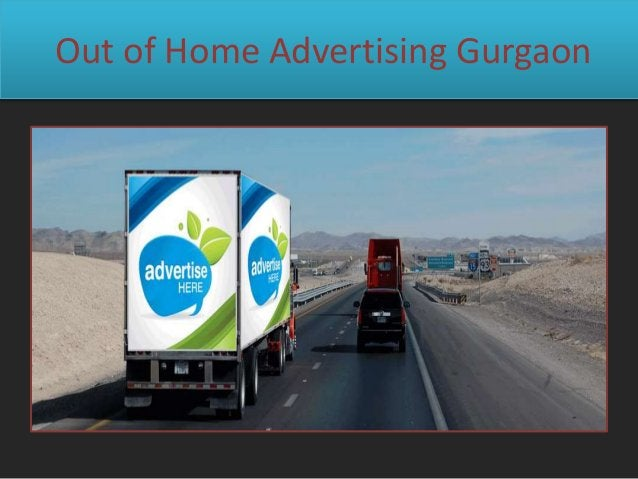 Out of Home Advertising Gurgaon