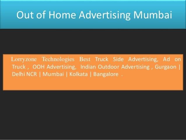Lorry Zone Best Out Home Advertising , Outdoor Ad Agency, Gurgaon   Delhi NCR   Mumbai   Kolkata   Bangalore Truck Side Ad...