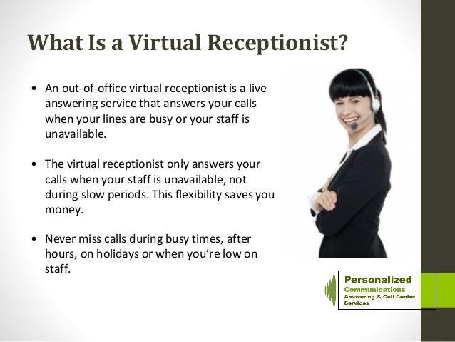 Virtual Receptionist: Virtual Receptionist Answering Service