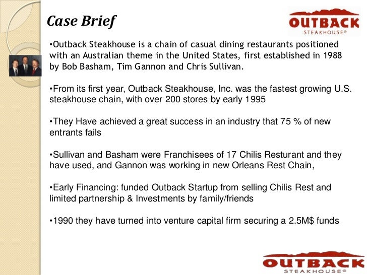 outback mission statement