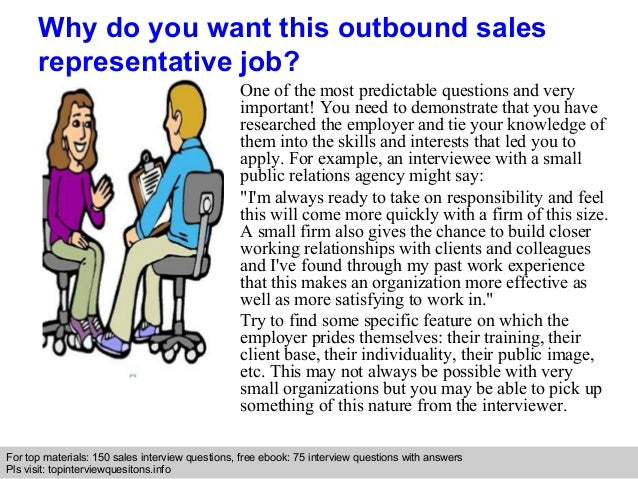 Outbound Sales Representative Interview Questions And Answers