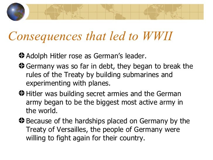 treaty of versailles fair essay