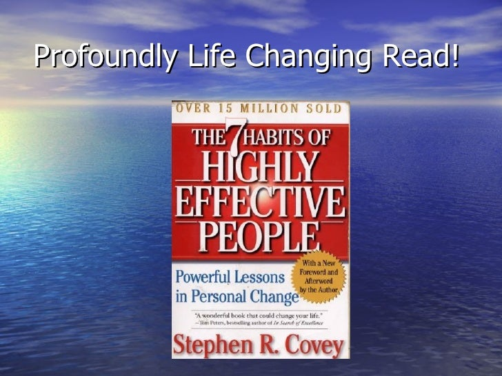 Profoundly Life Changing Read!