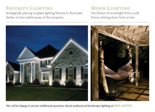 Outdoor lighting design guide