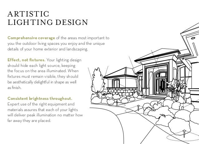 5  ARTISTIC LIGHTING DESIGN Comprehensive  Outdoor lighting design guide. Outside Lighting Design. Home Design Ideas