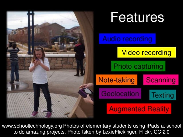 Outdoor activities with mobile devices Slide 3