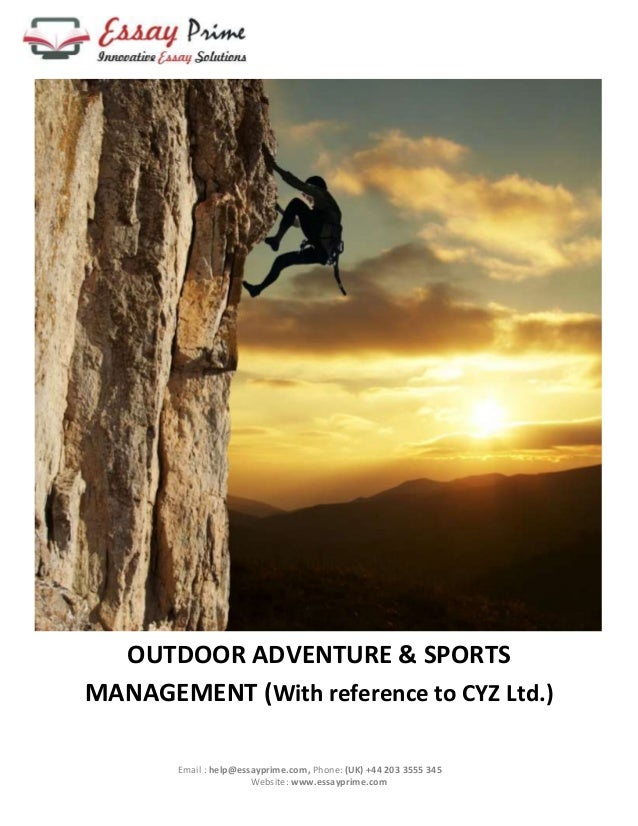 Essay on adventure sports