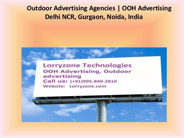 Outdoor Advertising Agencies | OOH Advertising Delhi NCR, Gurgaon, Noida, India