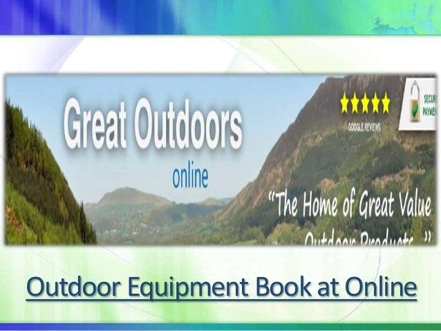 Outdoor Equipment Book at Online