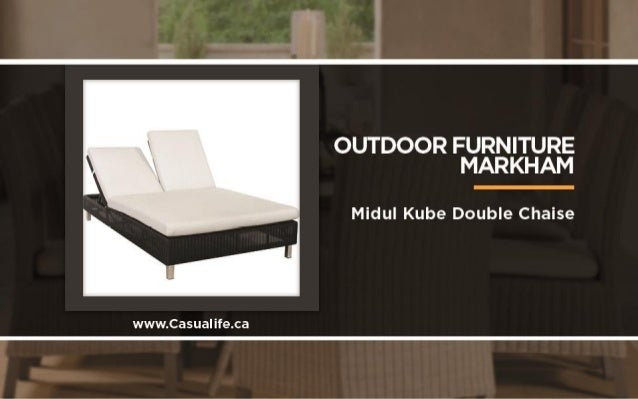 Outdoor furniture markham: 10 things to love about casualife Slide 2