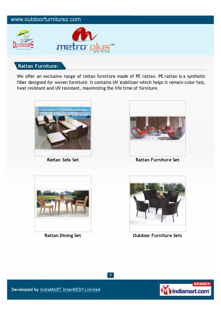 Metro Plus Life Style, New Delhi, Rattan Sofa Set Slide 3