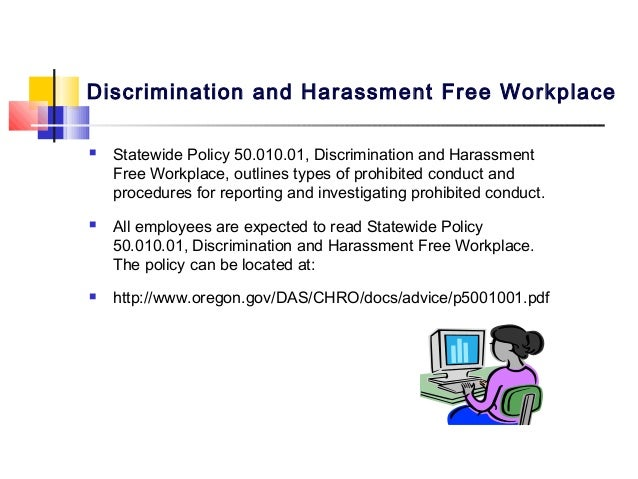 discriminatory or harassing behavior essay Free sample essay on sexual harassment often with exploitation of power differences and/or with discriminatory background the harassment this behavior.