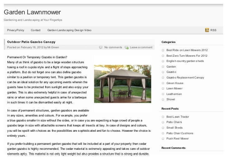 Garden LawnmowerGardening and Landscaping at Your Fingertips  Privacy Policy    Contact      Garden Landscaping Design Vid...