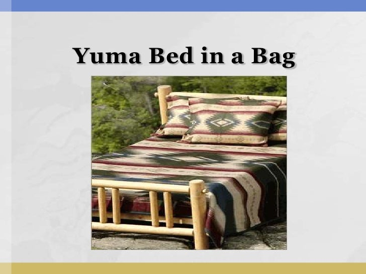 Outdoor Rustic Style Bed In A Bag