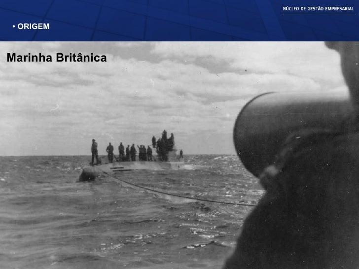 •  ORIGEM Marinha Britânica
