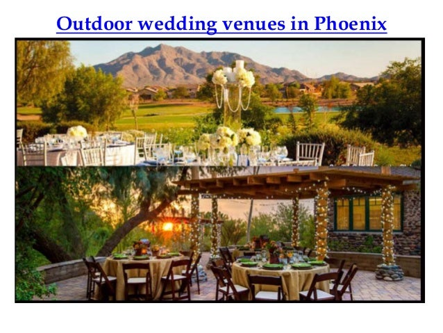 Outdoor wedding venues in phoenix junglespirit Gallery