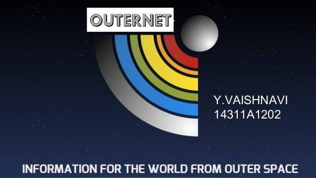 Outernet seminar ppt