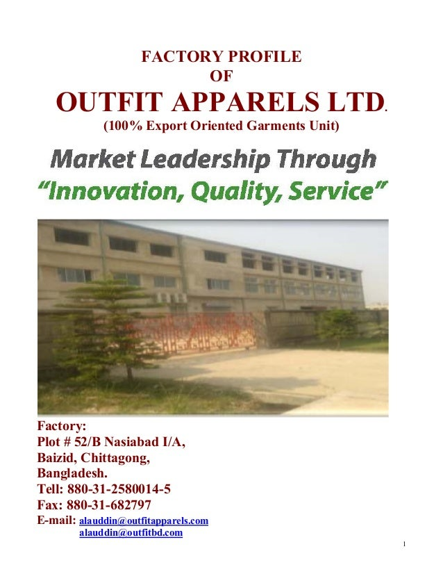 appropriate apparels ltd apparel export ltd