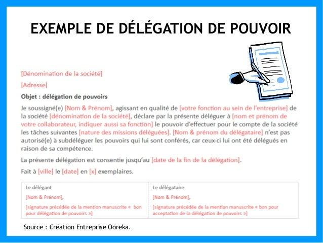 Modele Delegation De Pouvoir Fred Moit