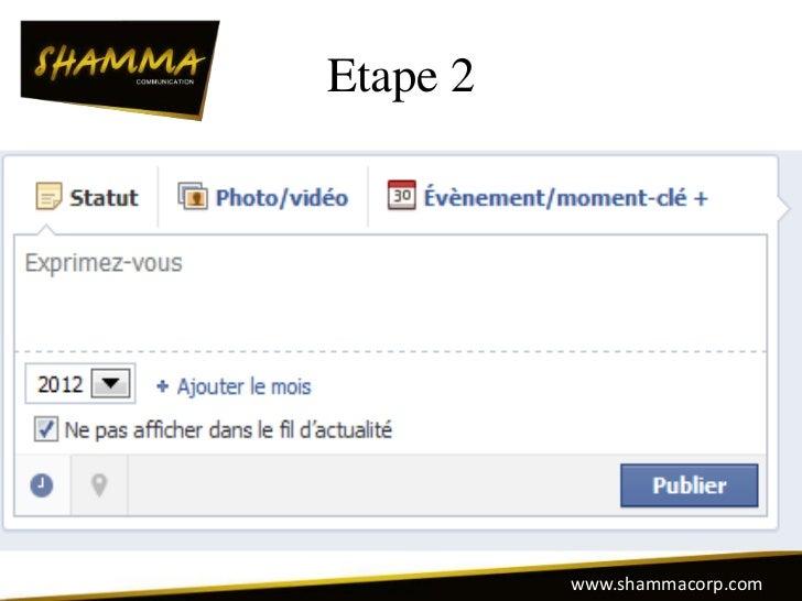 Etape 2          www.shammacorp.com