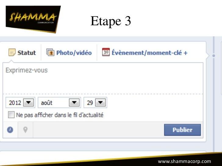 Etape 3          www.shammacorp.com