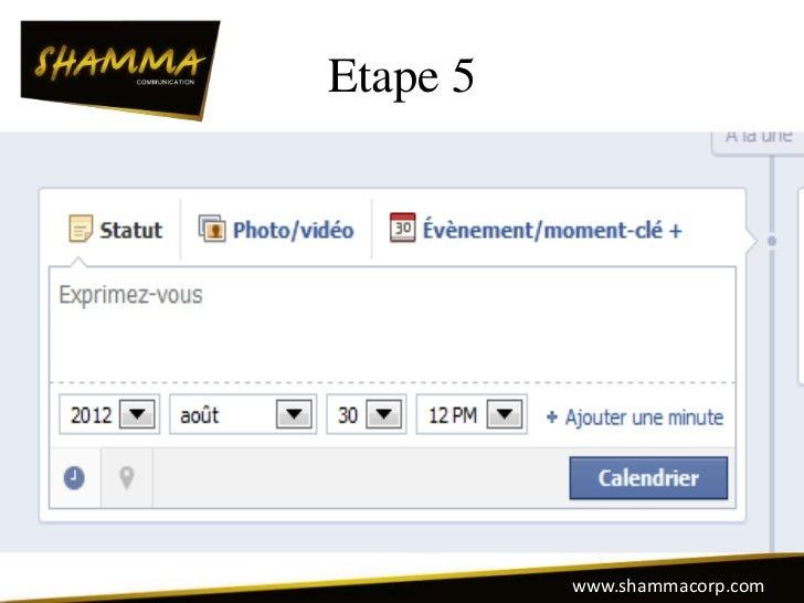 Etape 5          www.shammacorp.com