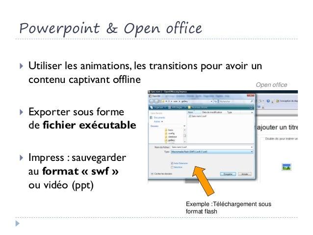 Apprendre et travailler offline mais branch - Open office impress telecharger gratuit ...