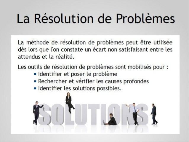 7 Outils de résolution de problèmes Slide 2