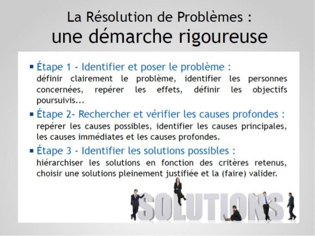 7 Outils de résolution de problèmes Slide 3