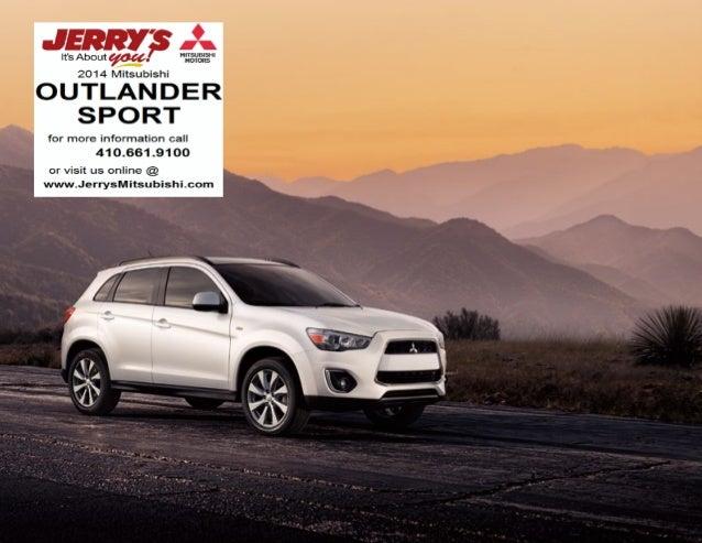 2014 Outlander Sport