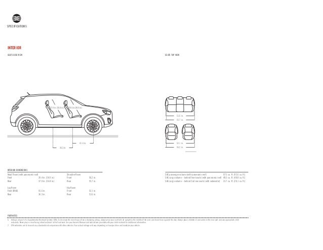 27. SPECIFICATIONS SPECIFICATIONS INTERIOR ...