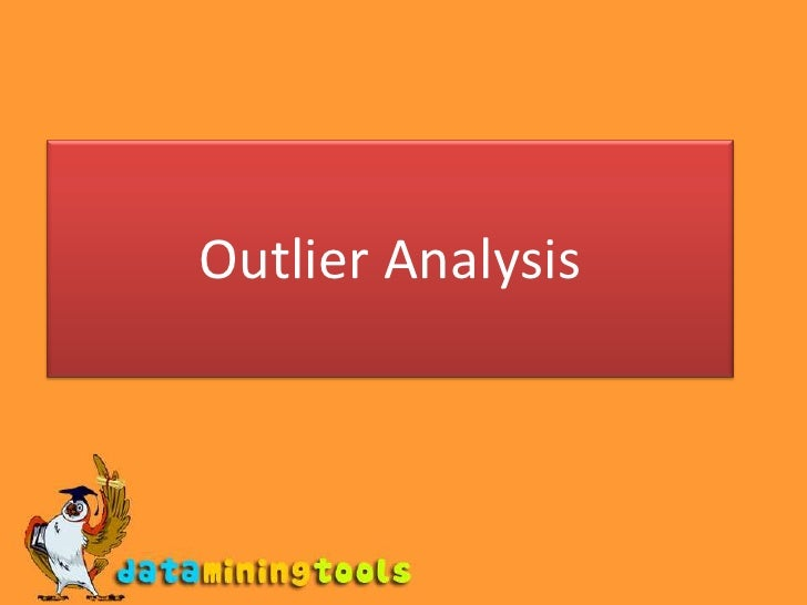Outlier Analysis<br />