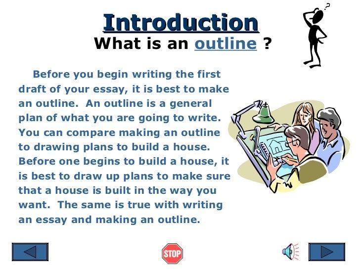 Essay Outline **  Slide 2