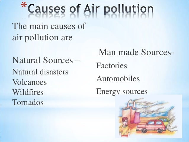 effects of air pollution in points