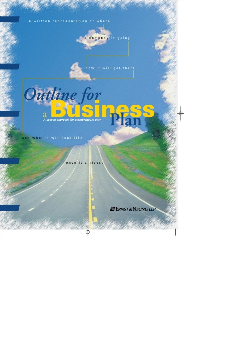 business plan cover 4/23/97 8:16 PM Page 3                 …a written representation of where                             ...