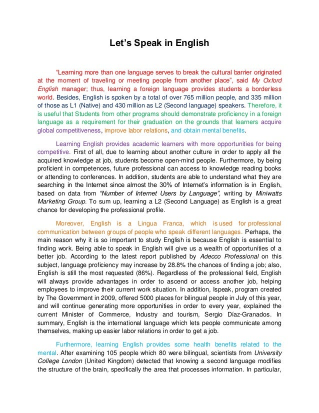 English language arts essay topics