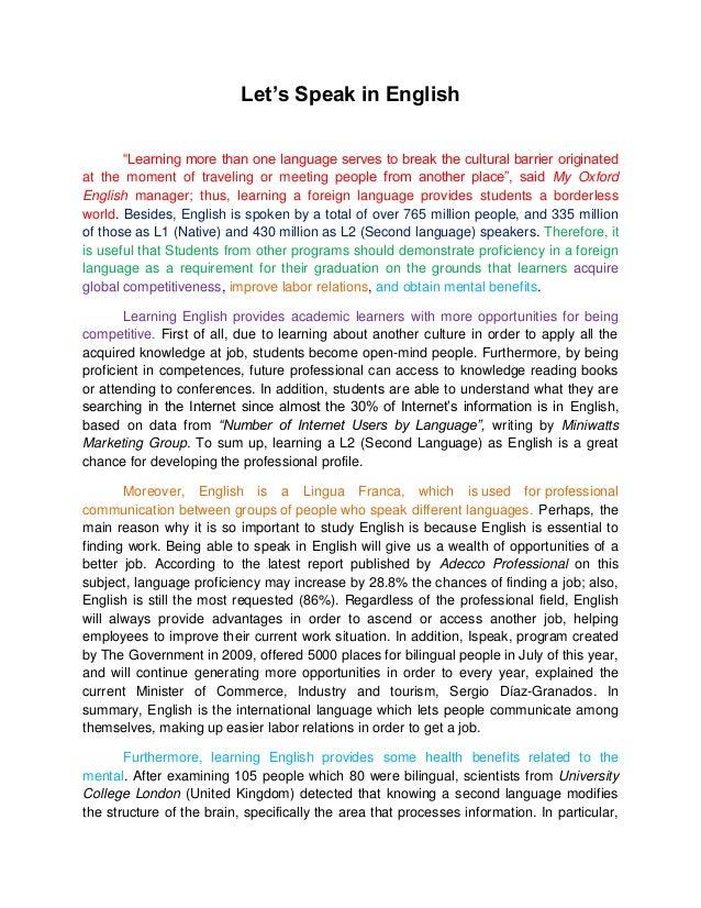 English extended essays topics