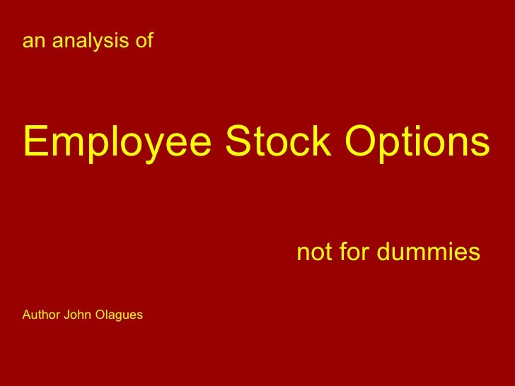 Que es el stock options