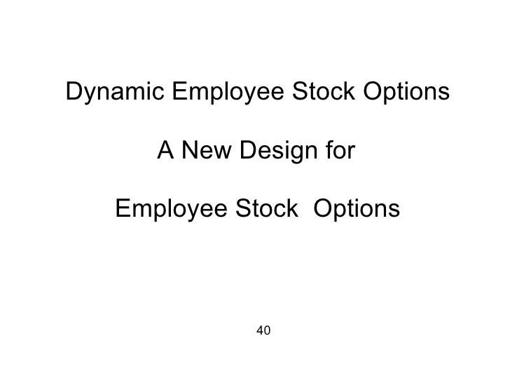 Ecig stock options